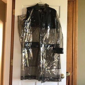 Belstaff Clear Rain Coat